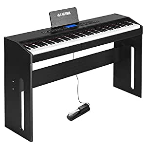 lagrima digital piano 88 key electric piano keyboard for beginner adults w music. Black Bedroom Furniture Sets. Home Design Ideas