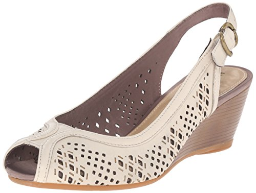 Baxley Wedge Pump Off Puppies Hush White Womens Leather Rhea 7waEfWxqS