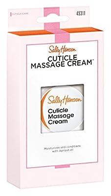 Sally Hansen Cuticle Massage Cream 0.4 Ounce (12ml) (2 Pack)
