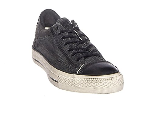 788ca474d4a Converse by John Varvatos Distressed Canvas Vintage Slip On Sneaker Black  (6 D(M