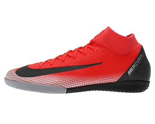 7bba02646bb Nike Men s SuperflyX 6 Academy CR7 Indoor Soccer Shoes (7 M US) Red ...