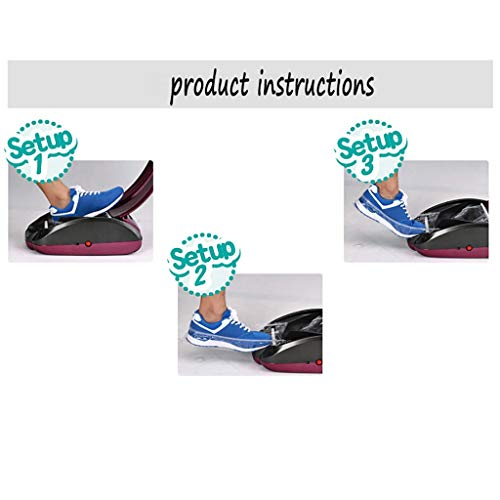 LDY Automatic Shoe Cover Machine, Disposable Indoor Home ABS Plastic , to Send 200 Non-Woven Shoe Covers by LDY (Image #8)