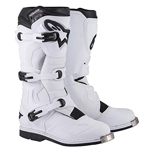 (Alpinestars Tech 1 Boots-White-16)
