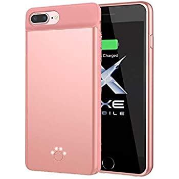 Premium Full Protection Battery Case Compatible with iPhone 8 Plus 8000 mAh 250/% Extra Battery Power Protective Charger Case iPhone6//6S//7//8-Plus-5.5 6//6S Plus Model With 5.5 Display 7 Plus