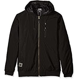Wrangler RIGGS WORKWEAR Men's Big and Tall Utility Hooded Jacket