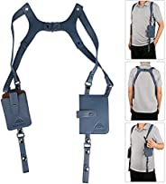 Neween Anti-Theft Hidden Underarm Strap Wallet Pocket Holster Phone Shoulder Holster Bag Leisure Double Should
