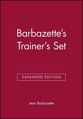 Barbazette's Trainer's Set by Jean Barbazette (2008-06-23) - Barbazettes Trainers