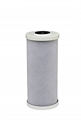 HDX HDX4CF4 Carbon High Flow Filter: Reduces Chlorine Taste & Odor and Sediment - 25 Mircon Water Filter