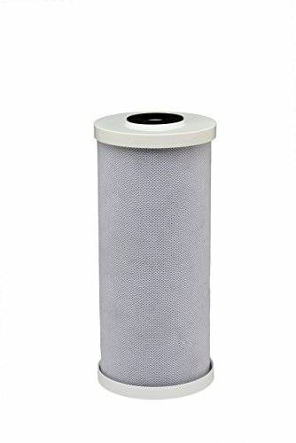 3M 4WH-HDGAC-F01H Large Capacity Whole House Carbon Water Filter - Universal Fit - Fits Most Major Brand Water Filtration Systems