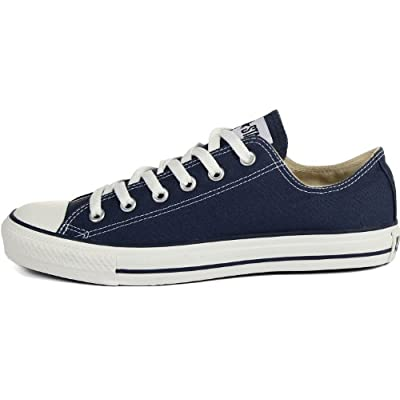 Converse Unisex Chuck Taylor All Star Ox Sneakers Navy M9697, 8.5 B(M) US Women / 6.5 D(M) US Men | Fashion Sneakers