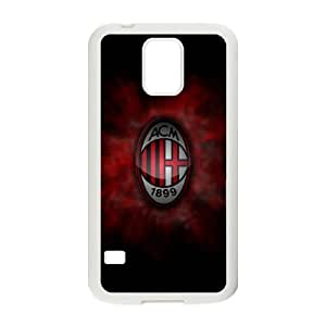 Samsung Galaxy S5 Cell Phone Case White AC Milan Football TDY Harley Davidson Phone Covers