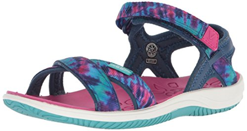 KEEN Unisex-Kids Phoebe Sandal, Navy Tie Dye, 12 M US Little Kid