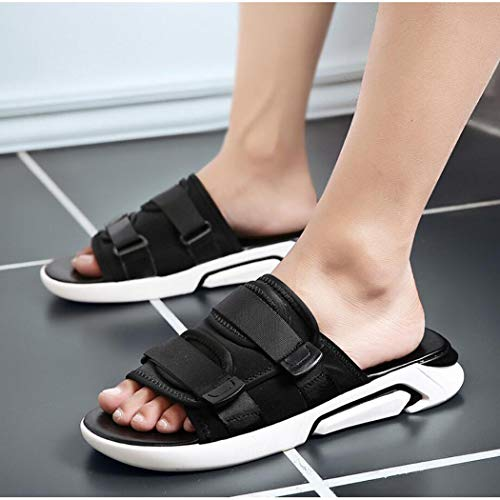 Cuero Sandalias Cómodos Zixuap 41 Playa De Los c Pu Sandalias Verano Hombres Transpirable Moda Zapatos Gruesas Salvaje zdgXqd