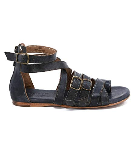 Bed|Stu Women's Miya Leather Sandal (10 M US, Graphito Rustic) ()
