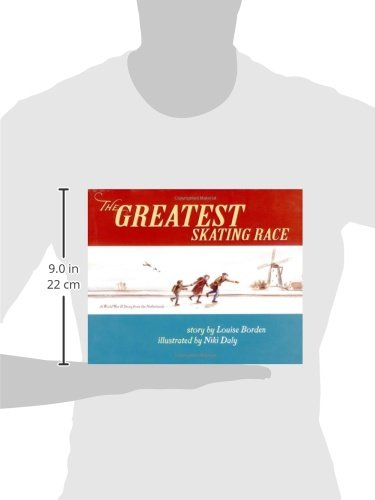 The Greatest Skating Race: A World War II Story from the Netherlands by Margaret K. McElderry Books (Image #2)