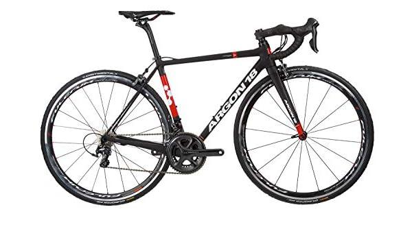 Argon 18 Gallium Pro Ultegra - Bicicleta de carretera para hombre, color negro, color negro, tamaño X-Large: Amazon.es: Deportes y aire libre