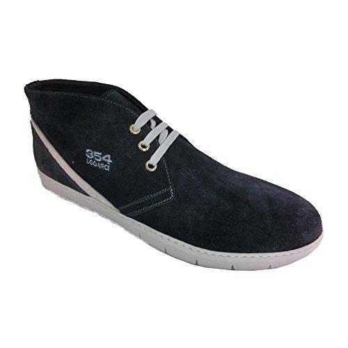 Ugo Arci , Herren Sneaker Blau Blu