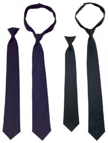 Police Issue Neckties - Black ()