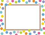 Geographics Dots School Award Certificates w/Stickers 8.5 x 11 Inches, 25 Pack, 6 Case (47856)