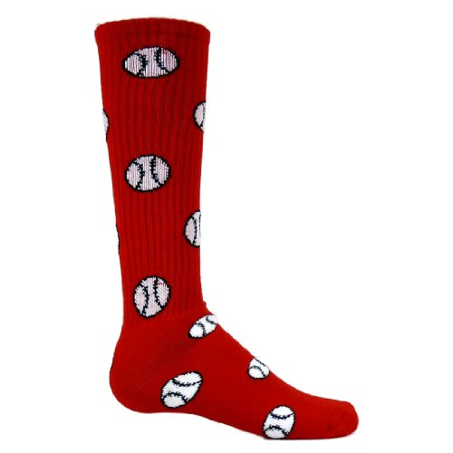 Girls Baseball Socks - 2