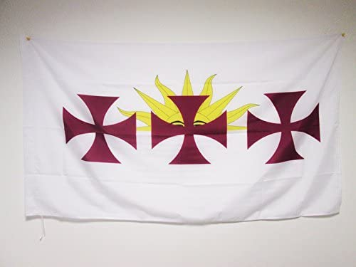 AZ FLAG Bandera de la HISPANIDAD 150x90cm para Palo - Bandera ...