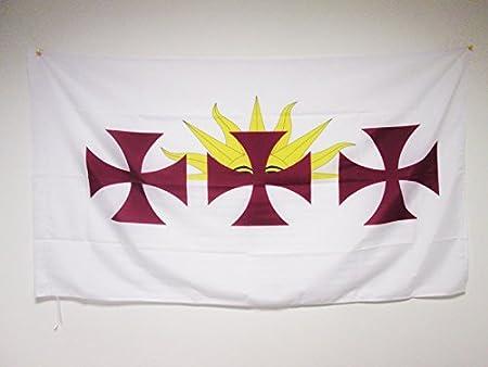 AZ FLAG Bandera de la HISPANIDAD 150x90cm para Palo - Bandera Idioma ESPAÑOL - ESPAÑA 90 x 150 cm: Amazon.es: Hogar