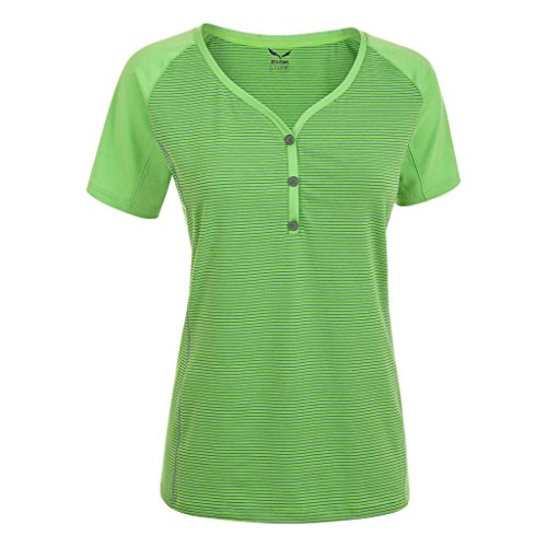 Salewa Damen Lipella Dry SS TEE emerald (38)