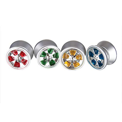 Duncan Toys Metal Racer Yo-Yo, Aluminum Advanced Level Yo-Yo with Racer Caps and SG Sticker Response, Colors May Vary