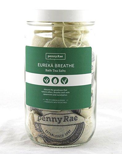 Eureka Breathe Bath Tea Salts Collection pennyRae NEW natura