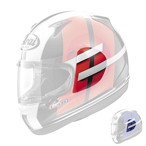Helmet Shield Cover - Arai RX-Q Conflict Helmet Shield Cover Blue