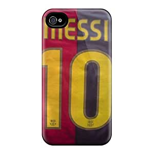 Scratch Protection Hard Cell-phone Case For Iphone 6 With Allow Personal Design Trendy Messi Pattern JohnPrimeauMaurice