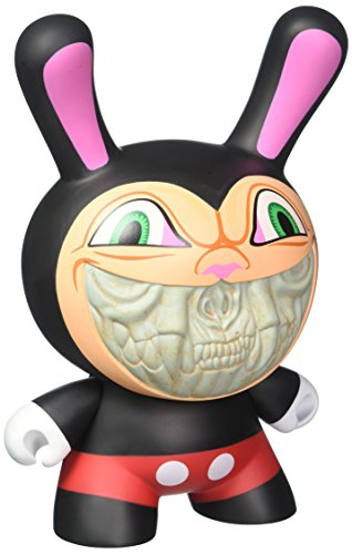 Kidrobot Apocalypse Mickey Grin 8-inch Dunny Vinyl Figure by Ron English