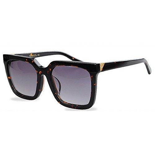aire TAC Conducción sol de sol Marco UV de gafas Protección Personalidad de Gafas polarizadas de Retro acetato gran de libre Hombres Fibra Playa de Lente Vacaciones al esquí de Negro camuflaje Gafas tamaño FHxwa0