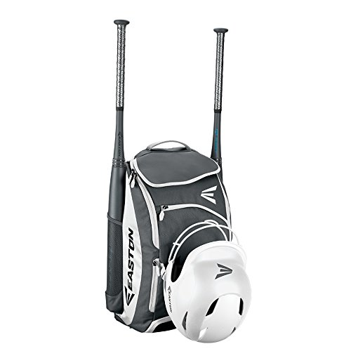 - EASTON PROWESS Bat & Equipment Softball Backpack Bag | Designed for Female Athletes | 2019 | White | 2 Bat Sleeves | Vented Shoe Pocket | Top Pocket | Flip Up Mirror | Helmet Strap | Fence Hook