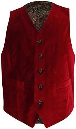 랄프 로렌 남성용 벨벳 5 버튼 블레이저 재킷 / 랄프 로렌 남성용 벨벳 5 버튼 블레이저 재킷