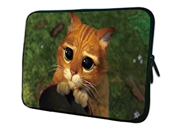 17 Shrek Cat Laptop Sleeve Carry Case Pouch Bag Amazon Co Uk