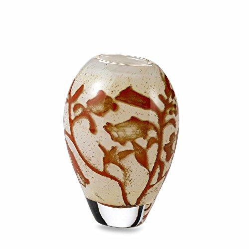 Kosta Boda Floating Flowers 5-7/8-Inch Vase, Small ()
