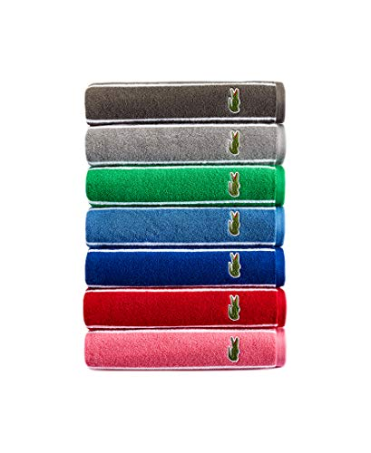 Lacoste Sport Stripe Bath Towel, Cliff