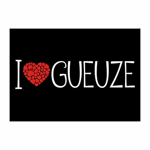 teeburon-i-love-gueuze-cool-style-pack-of-4-stickers