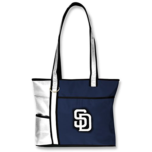 (MLB San Diego Padres Tote Bag with Embroidered Logo)