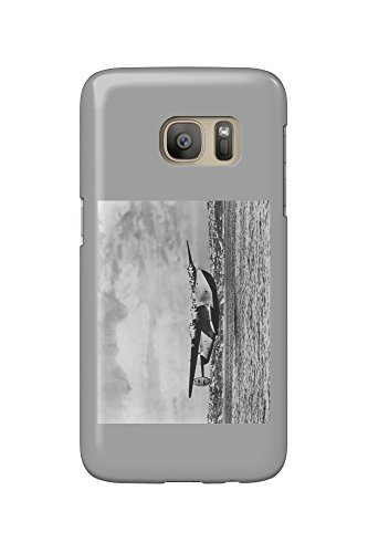 Boeing 314 China Clipper Over Water Airplane Photograph (Galaxy S7 Cell Phone Case, Slim Barely There) (Boeing China Clipper)