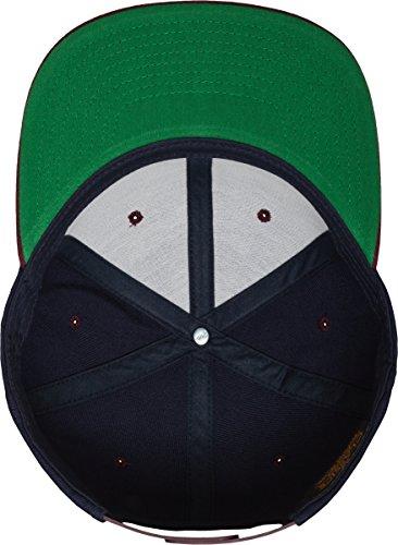 Nvy Maroon tone Multicolor Snapback Classic 2 Flexfit Talla Gorro unisex única Mütze qfZPxCvwnU