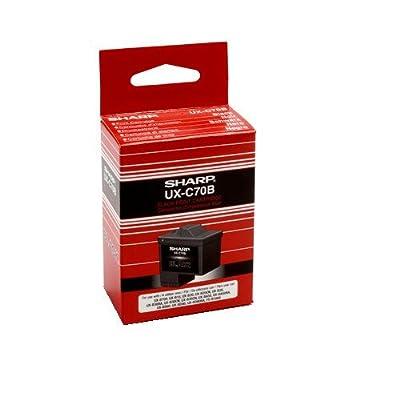 Sharp UX-C70B Inkjet Cartridge, Black