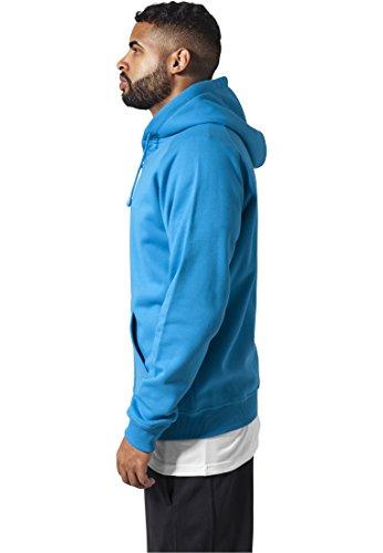 Urban Classics Zip Hoody TB014C Turquoise ...