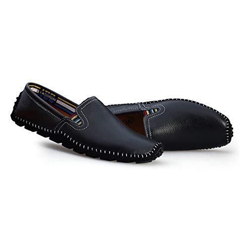 Hcwtx nero Scarpe in uomo pelle Mocassino marrone comfort d'affari barca donna dimensioni 0cm sintetica basse Nero Scarpe Scarpe blu 5cm da da gommino da Mocassino 28 24 rrdqwZzxg