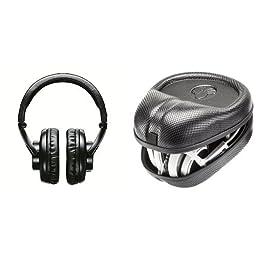 Shure SRH440 Professional Studio Headphones Bundle with Case