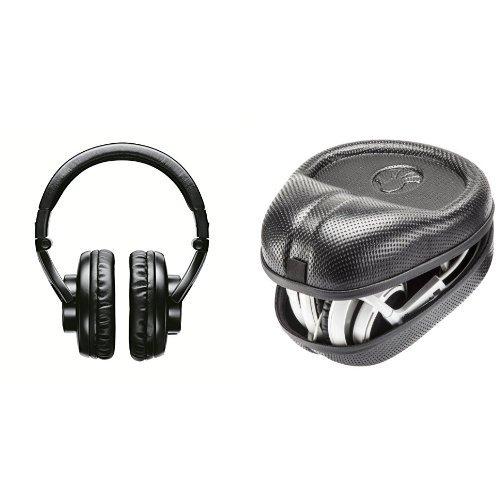 (Shure SRH440 Professional Studio Headphones Bundle with Case)