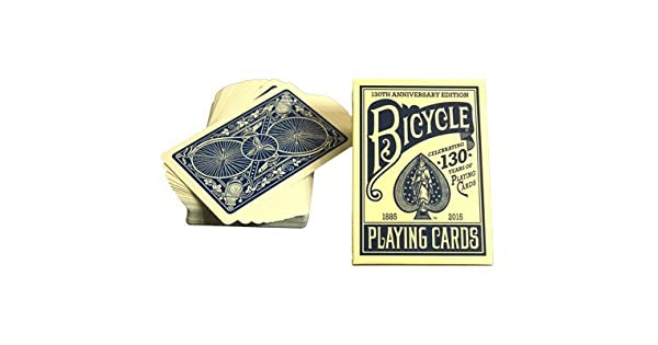 Amazon.com: Bicicleta 130 Año Deck (Azul) por US Playing ...