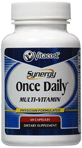 Vitacost Synergy Once Daily Multi Vitamin    60 Capsules