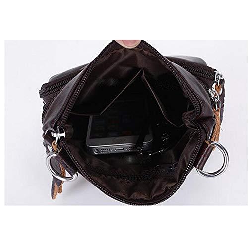 sac Noir Sacs PU à Bandoulière QZTG Cuir Bandoulière main Sac Noir Zippé en À À en p1dUH0qZ0